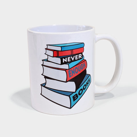 The Library Store Bookstack Mug