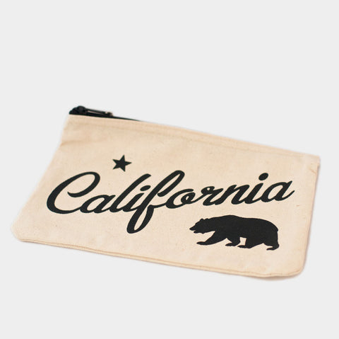 The Library Store California Bear Pouch