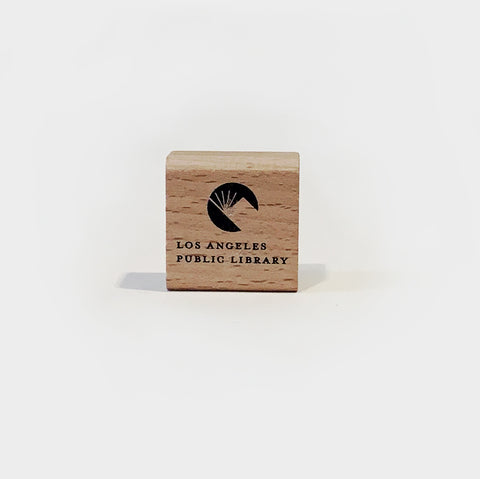 The Library Store Los Angeles Public Library Wooden Pencil Sharpener
