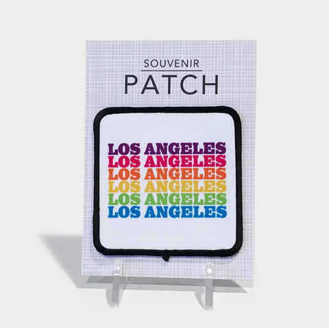 The Library Store Los Angeles Rainbow Patch