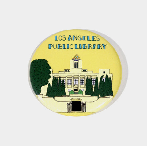 The Library Store Los Angeles Public Library Magnet