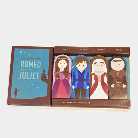 The Library Store Romeo & Juliet Page Flags