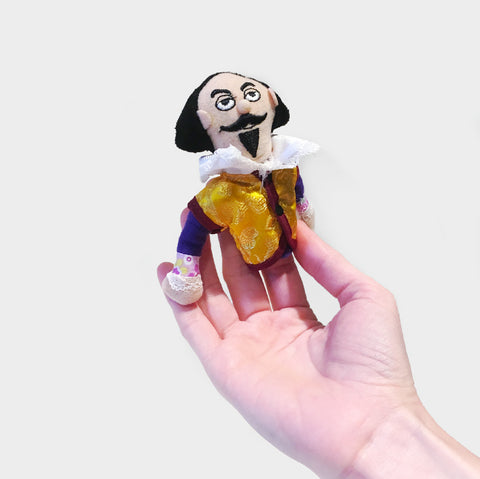 The Library Store Shakespeare Finger Puppet