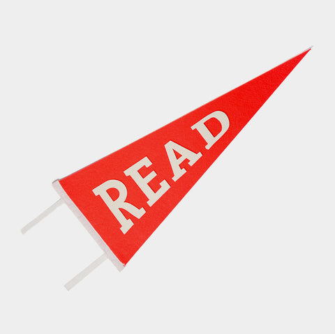 The Library Store Read Pennant