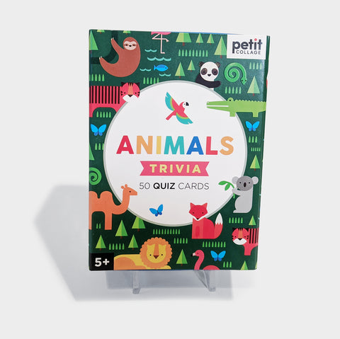 The Library Store Animals Trivia Cards