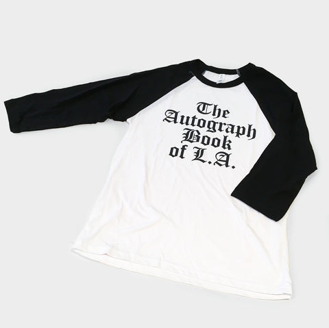 The Library Store Autograph Book Baseball T-shirt