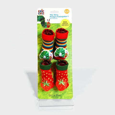 The Library Store The Very Hungry Caterpillar Booties