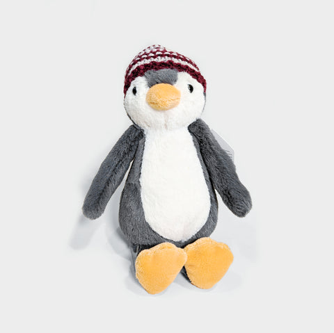 The Library Store Bashful Bobble Hat Penguin