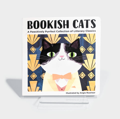 The Library Store Bookish Cats Board Book