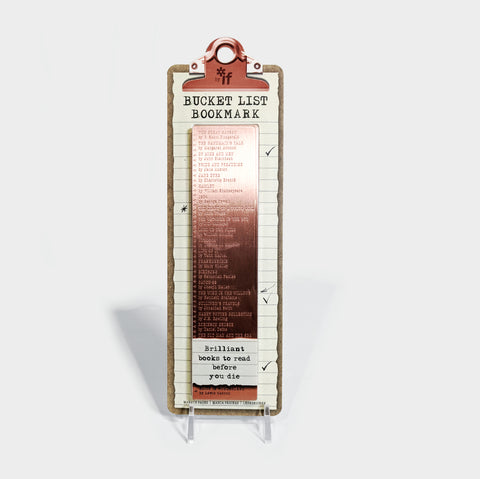 The Library Store Bucket List Bookmark