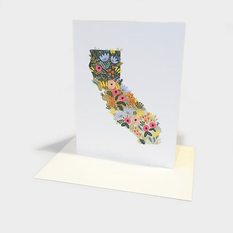 The Library Store California Wildflowers Card