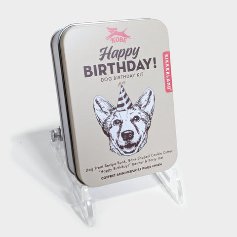 The Library Store Dog Birthday Kit