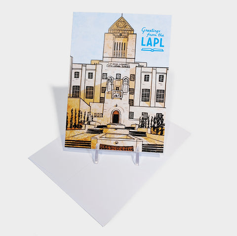 The Library Store Goodhue Building Card