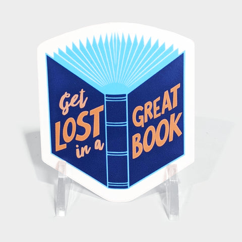 The Library Store Great Book Sticker