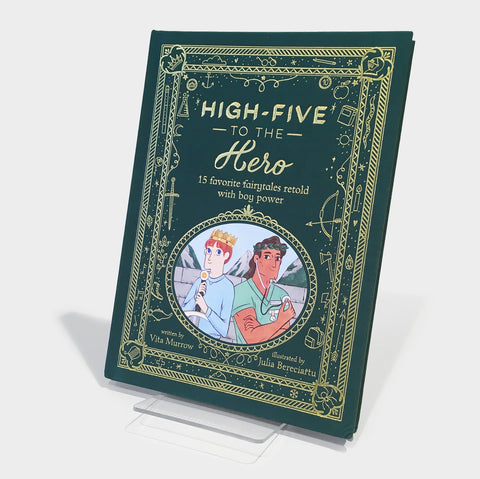 The Library Store High-Five to the Hero
