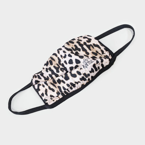 The Library Store Leopard Print Face Mask