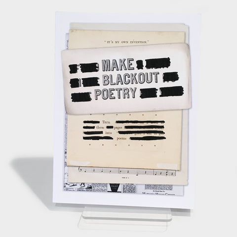 The Library Store Make Blackout Poetry