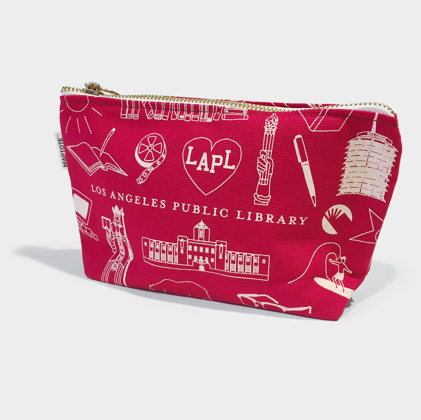 Maptote X LAPL Zip Pouch