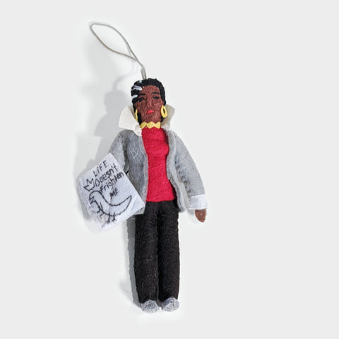 The Library Store Maya Angelou Ornament