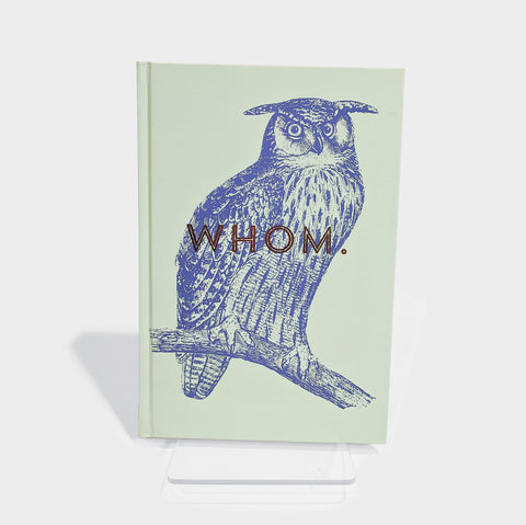 The Library Store Owl Whom Hardcover Journal
