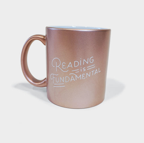 The Library Store Reading is Fundamental Mug