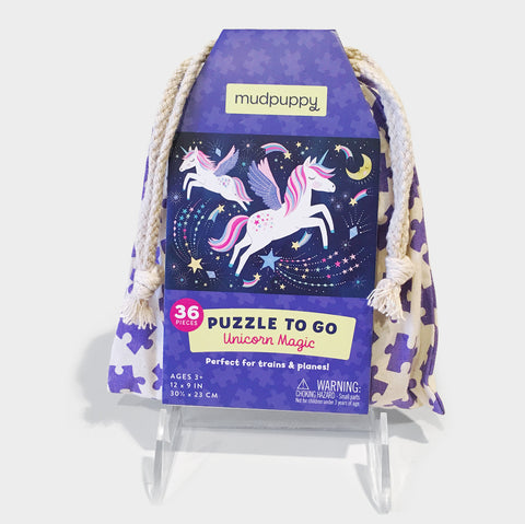 The Library Store Unicorn Magic Puzzle to Go