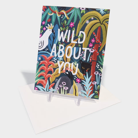 The Library Store Wild About You Jungle