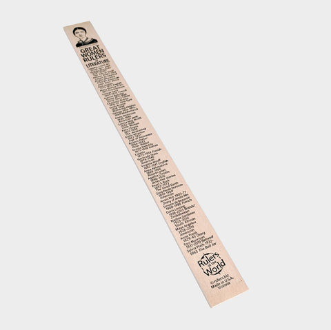 The Library Store Women in Literature Ruler