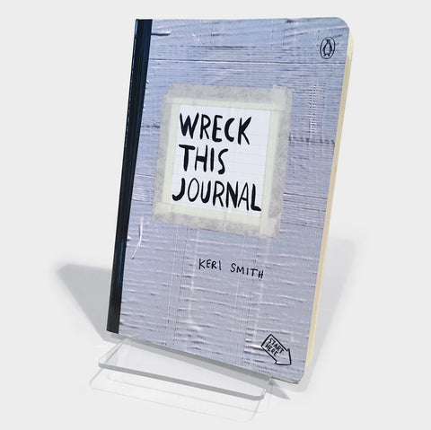 The Library Store Wreck This Journal (Duct Tape)