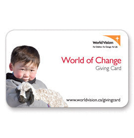World of Change Giving Card - Custom Amount