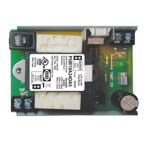 PSM19A24DAS | FDI | GEN. PUR. DC SUPPLY, Isolated 120Vac Input, w/MT212-4 track, fits 2.75 or 4in
