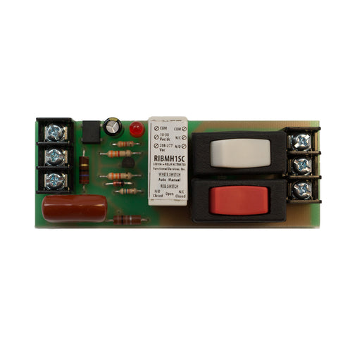 RIBH1SC | FDI | Enclosed Relay 10Amp SPDT + Override 10-30Vac/dc/208-277Vac
