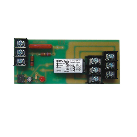 RIBM2402D | FDI | Panel Relay 4.00x1.70in 10Amp DPDT 24Vac/dc/208-277Vac