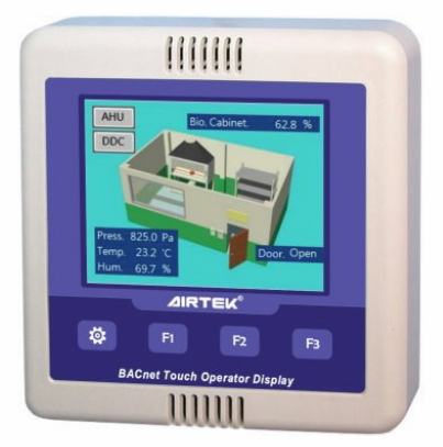 "NVT35U | Airtek | 3.5"" LCD BACNet Operator Touch Display Panel (B-OD)"