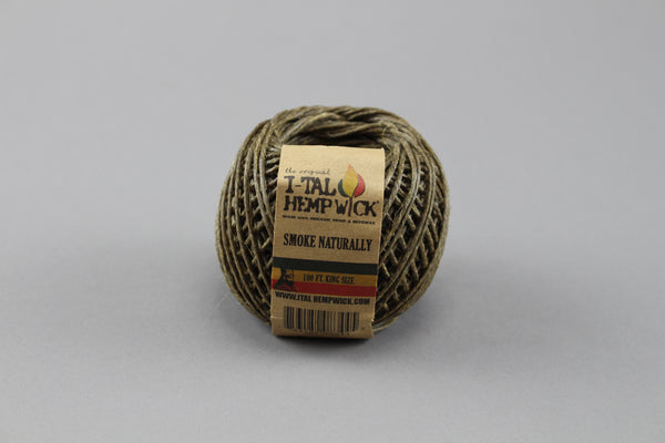 I-TAL Hemp Wick Spool 250ft