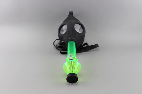 Gas Mask Water Pipe Acrylic