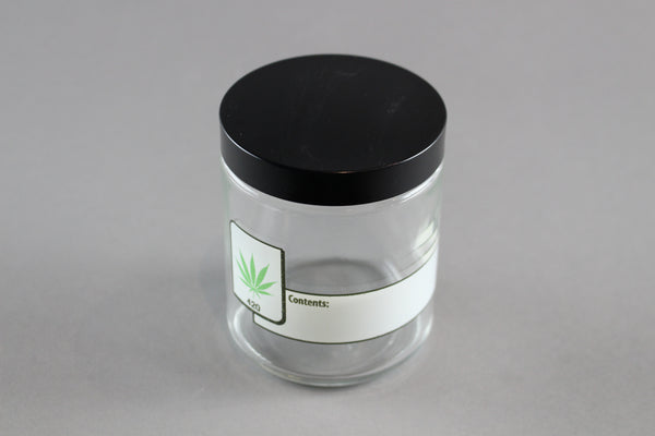 420 Science Clear Screw Top Jar Large | Wacky Tabacky Inc