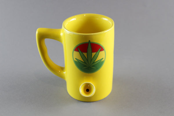 420 Ceramic Mug Pipe | Wacky Tabacky Inc