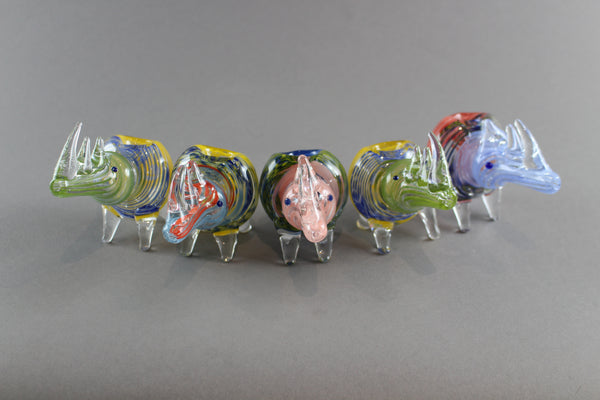 Glass Pipe Rhino