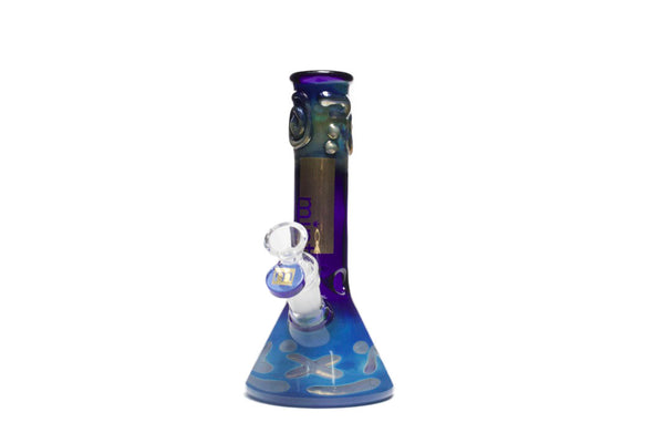 Mint Glass Beaker Colour Changing Bong BLUE
