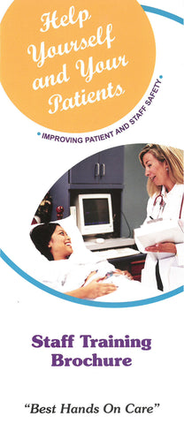 Handwashing Staff Training Brochure