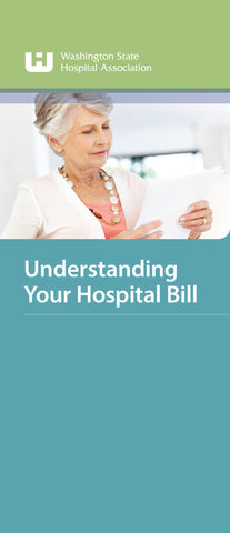 Understanding Your Hospital Bill Brochure