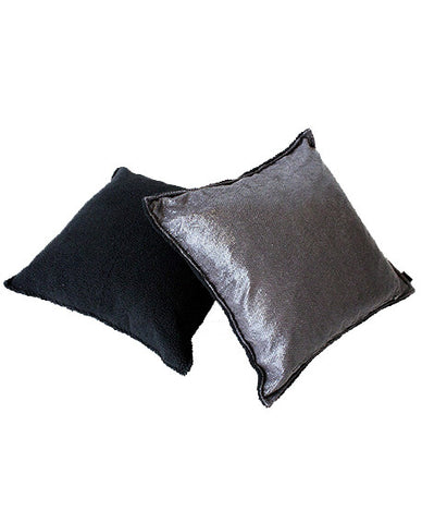 Double pillow - Black/Grey