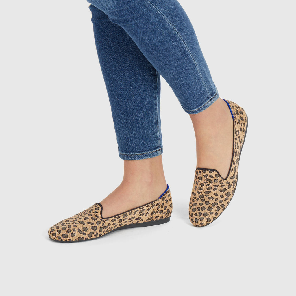 The Loafer in Spotted shown on-model at an angle.