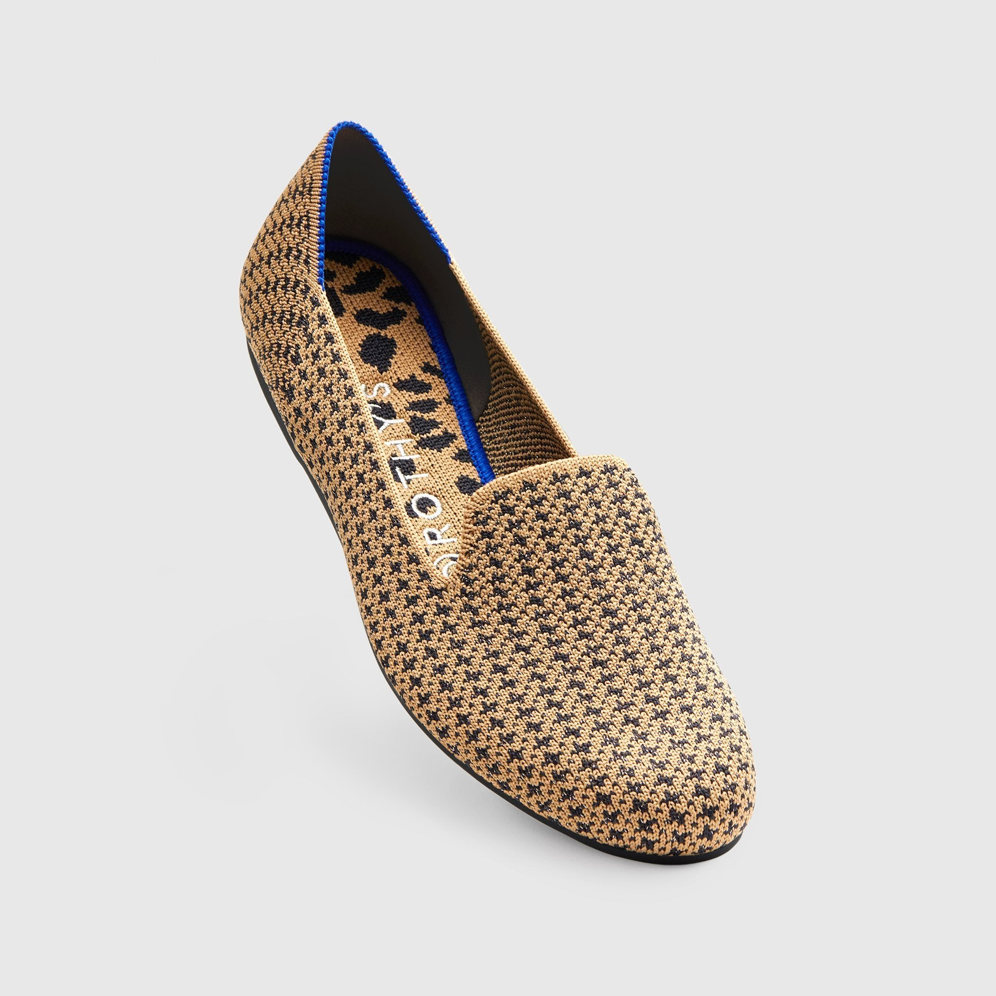 Gold Houndstooth