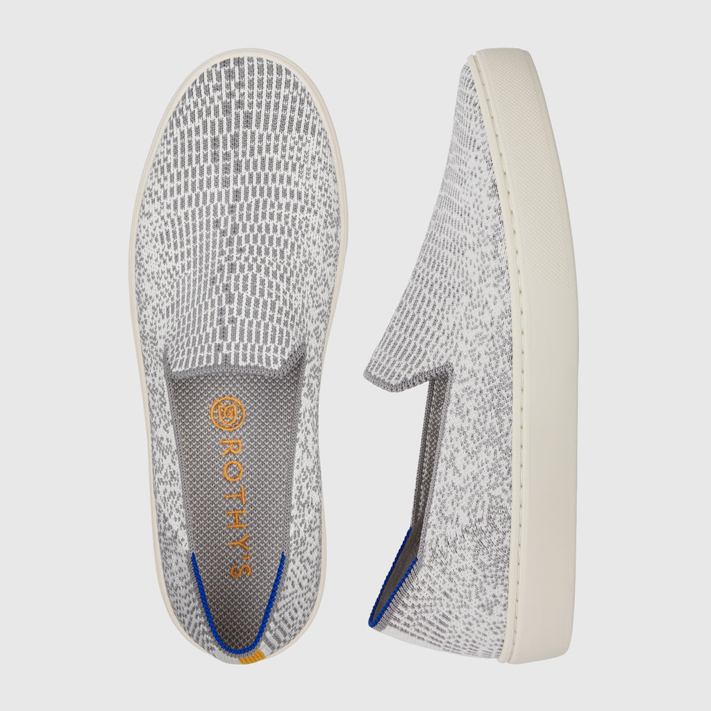 The Sneaker in Opal Python shown from the top alongside a side view showing the outsole.