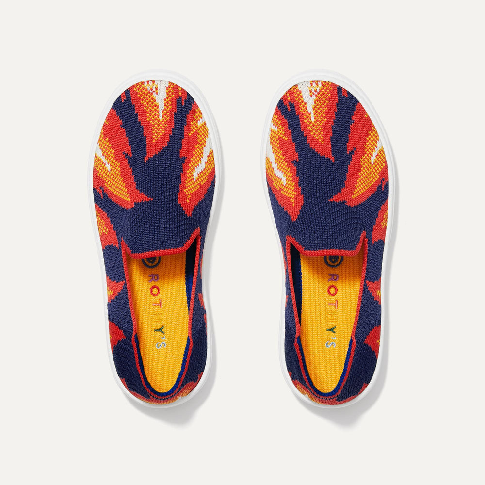 3. Navy Flames - Rothy