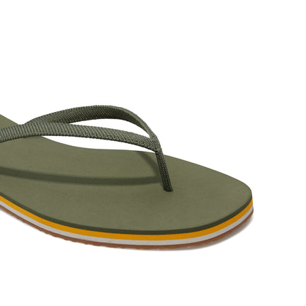 The Flip Flop sandal in Grasshopper shown from the top view with detailing of the front of the sandal.