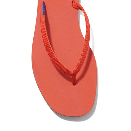 The Flip Flop sandal in Tiger shown from a front angle with strap detail.