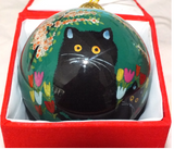 Maud Lewis Hand-painted Glass Ornaments